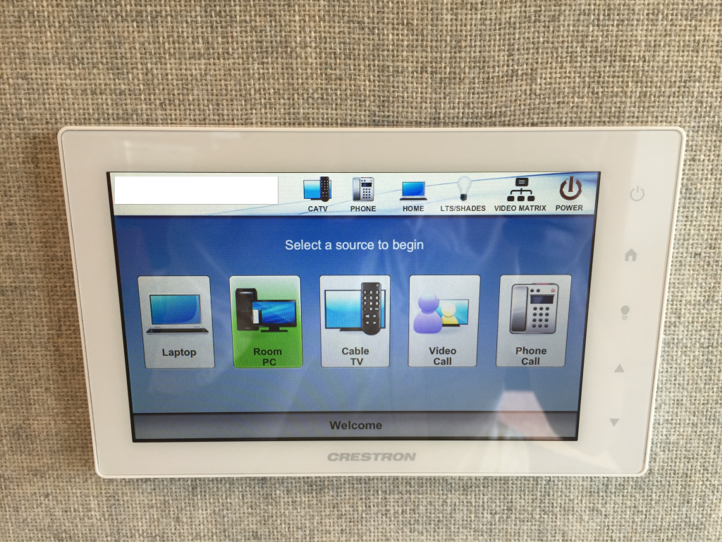 Design Critique: Crestron TSW-1053 (with custom software)
