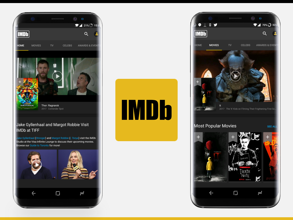 IMDB - Design Critique - Intro Image