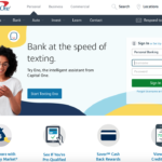 Design Critique: Capital One Bank – (Website Desktop).
