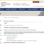 Design Critique: The FOIA Electronic Reading Room of the CIA [website]  (Or: Better Design as a Key Issue in Public Access to Government Information)