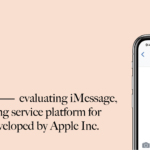 Design Critique – Imessage (Apple)
