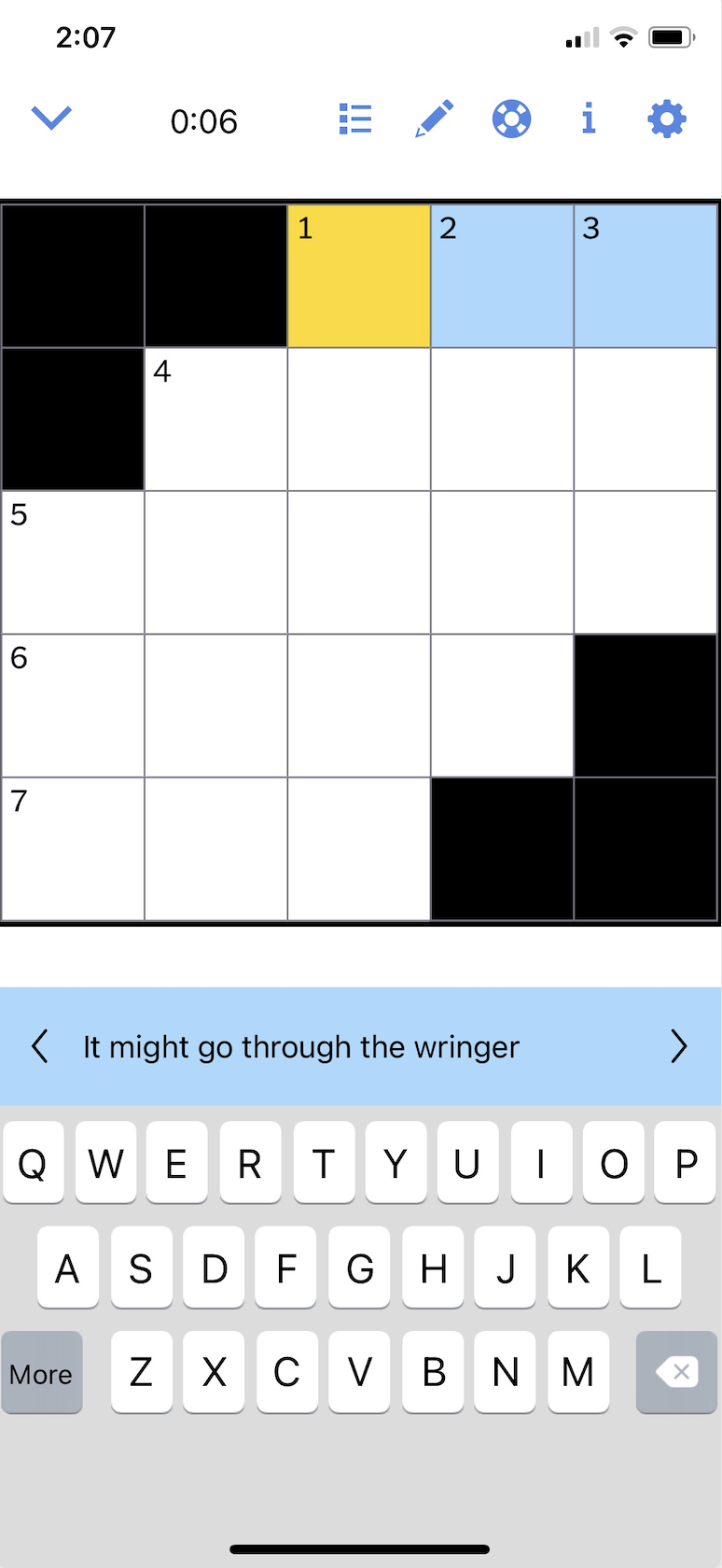 Image of The New York Times Crossword App
