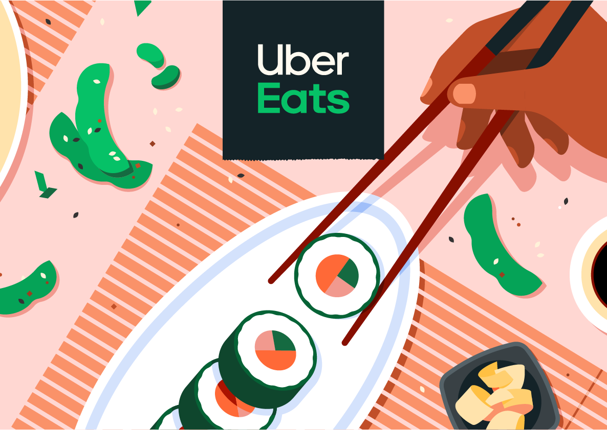 Uber Eats, Food Delivery App, UX UI, Don Norman, Design of Everyday Things